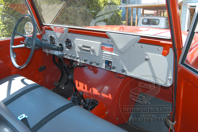 International Harvester 1961 Scout 80 1961 Scout Glove Box