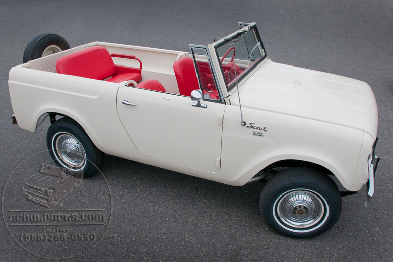 1964 International Scout http://scoutparts.com/gallery/gallery_image.php?image=International_Harvester_1964_Scout/1964%20International%20%20Scout%20red%20carpet.jpg