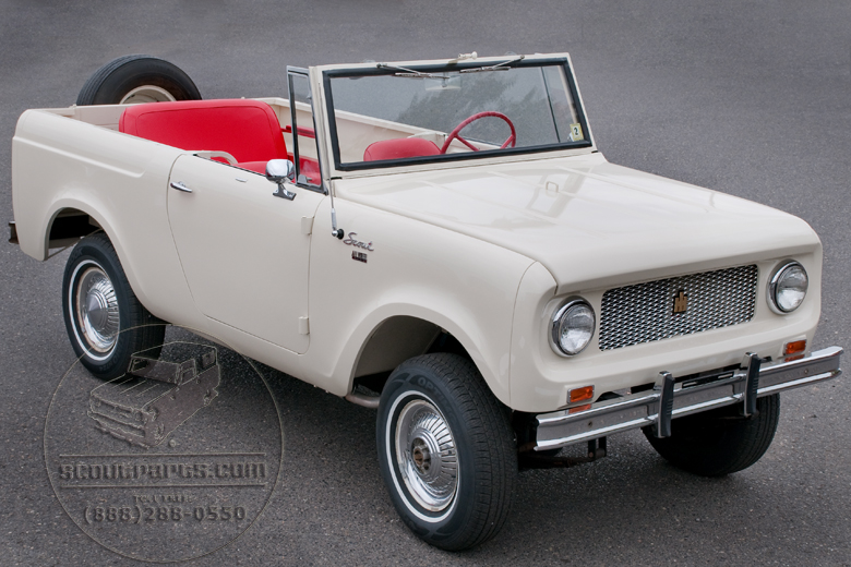 1964 International Scout http://scoutparts.com/gallery/gallery_image.php?image=International_Harvester_1964_Scout/International%20Harvester%201964%20Scout%20red%20carpet%20suspension.jpg