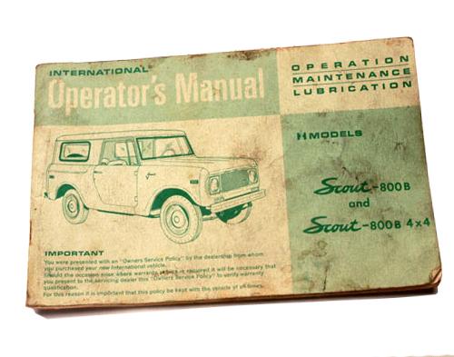 B Owners Manual