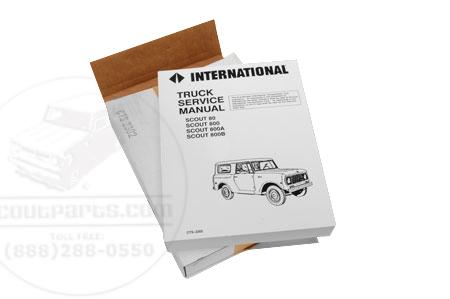 Service Manual 1961-1971