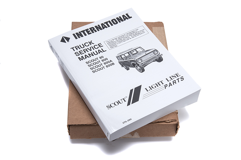 Scout 80, Scout 800 Service Manual 1961-1971