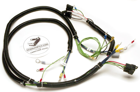 B Engine Wiring Harness  1971