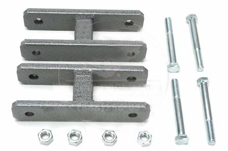 Spring Shackle Kit - 1 INCH LIFT