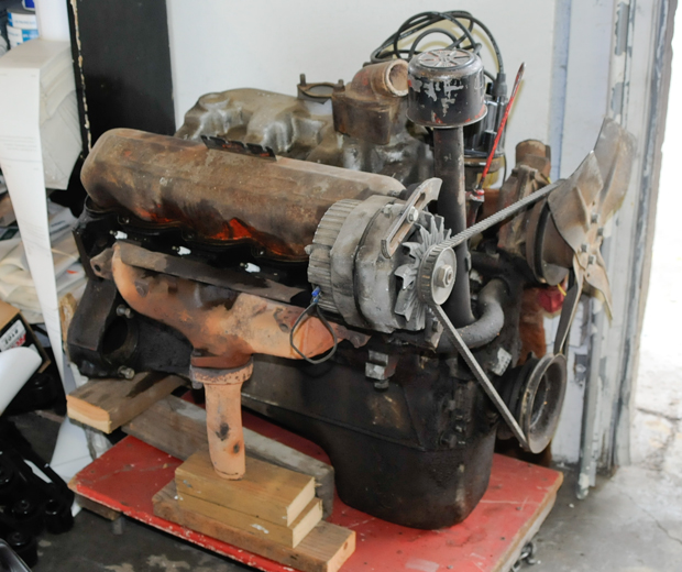 Used 152 4-Cylinder Engine - good running condition.