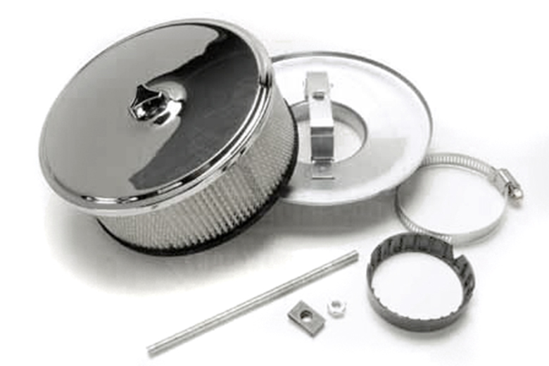 Scout 80, Scout 800 Chrome Air Filter, Cleaner