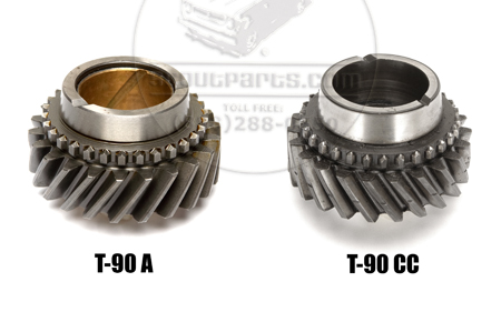 Second Gear for T-90, 3 Speed Transmission