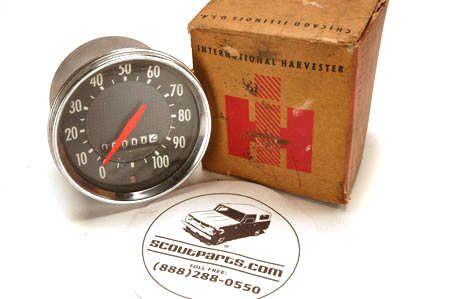 Scout 800 Speedometer - New Old Stock