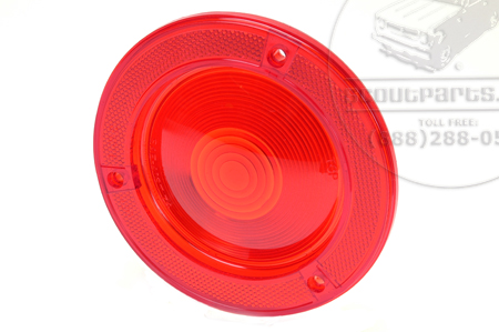 Tail Light Lens (Brake Lens)