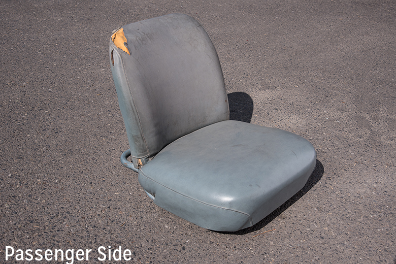 Scout 80, Scout 800 Bucket Seat - Driver - Used Driver Or Passenger