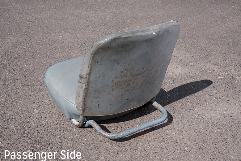 Scout 80, Scout 800 Seat Bucket Driver  - used Driver and passenger