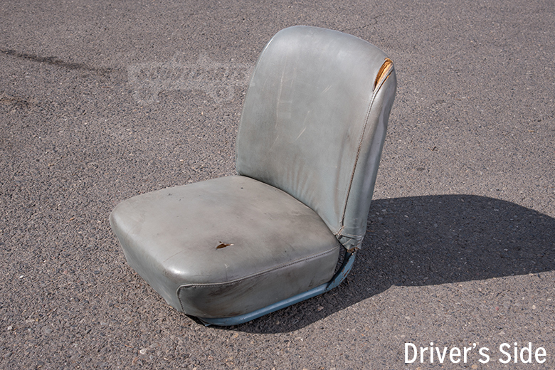 Seat Blue Driver  - used Driver and passenger -