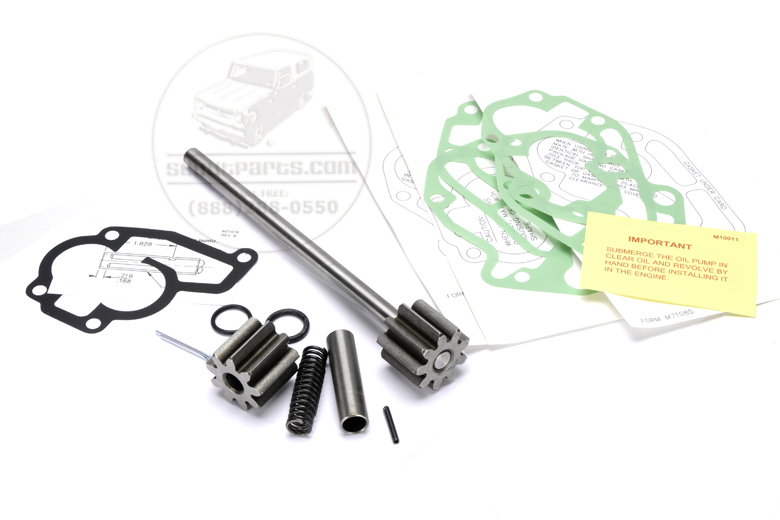 Scout 80, Scout 800 Oil Pump Rebuild Kit