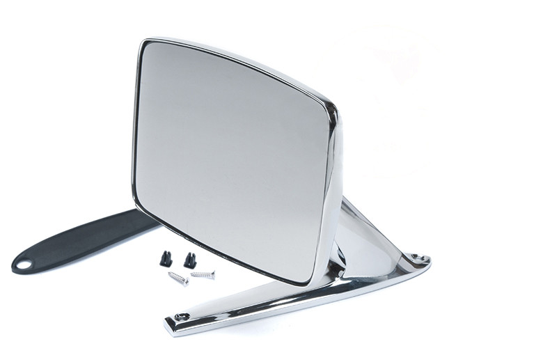 Scout II Side Mirror -  Chrome Replacement