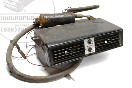 Scout II, Scout 80, Scout 800 Aftermarket Air Conditioner Under Dash Unit