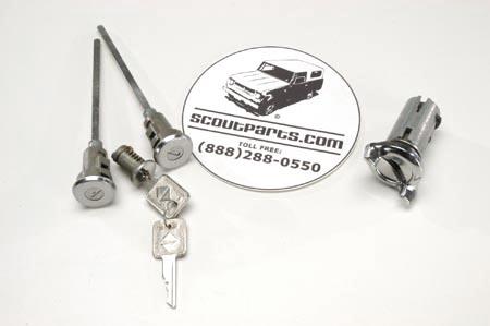 Door Lock and Set, Complete For  1971-1980