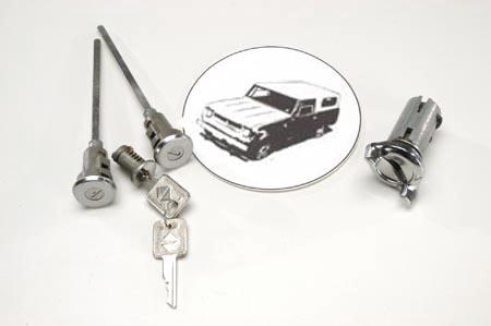 Scout II Door Lock and Set, Complete For  1971-1980
