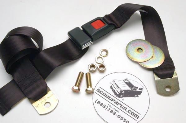 Scout II, Scout 80, Scout 800 IH Seat Belt