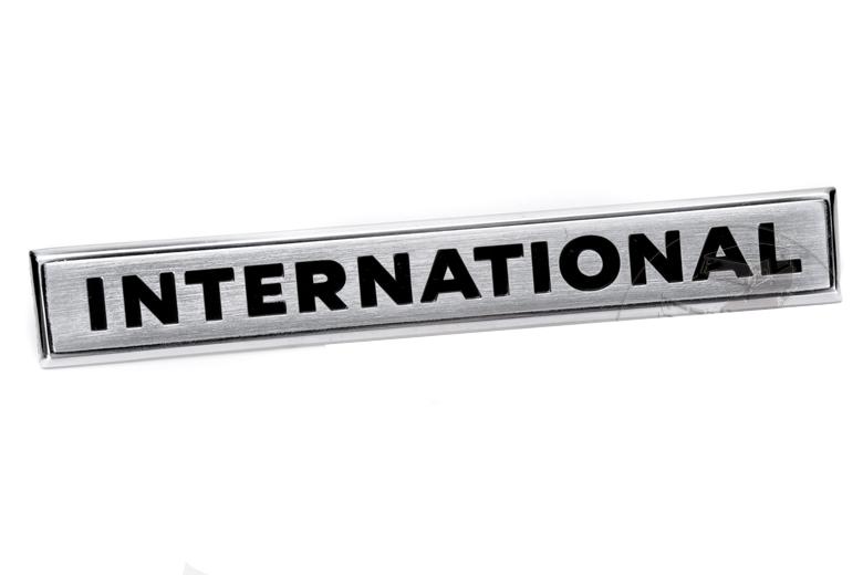 Scout II Tailgate Emblem -   International  - NEW