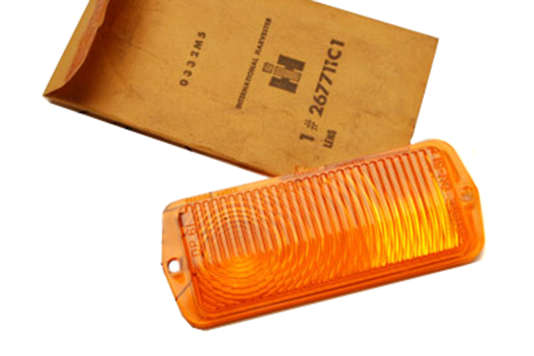 Scout 80, Scout 800 Front Turn Signal Lens Both Clear And Amber (PRE-1966)