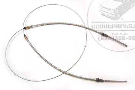 Rear Parking Brake Cable (Emergency Brake) 100 inch wheel base