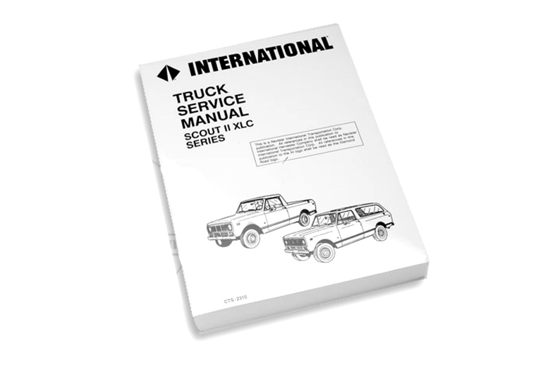 Scout II Service Manual 1976-1977
