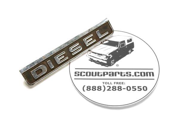 """Diesel Emblem - used   """"Diesel"""""""