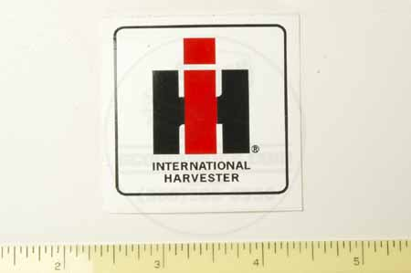 "Decal  2 inch ""IH"" sticker"