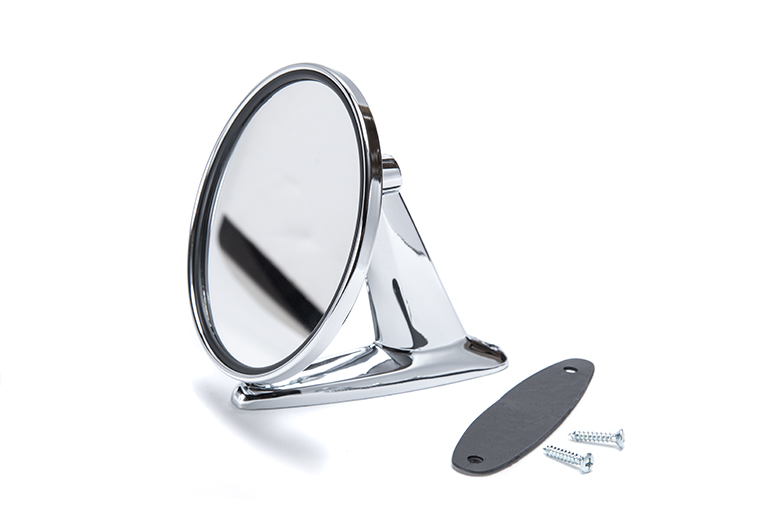 Scout II Side View Mirror - Plastic Housing