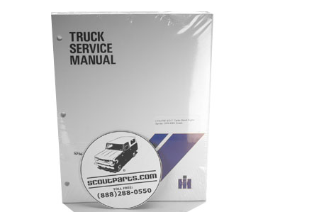 Scout II Turbo Diesel Service Manual - IH