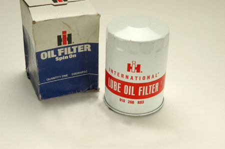Spin On Oil Filter - New old stock