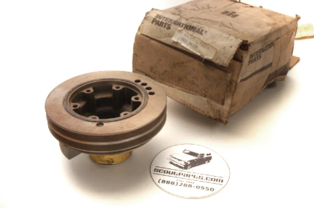 Scout II Harmonic Balancer V-8 - New Old Stock