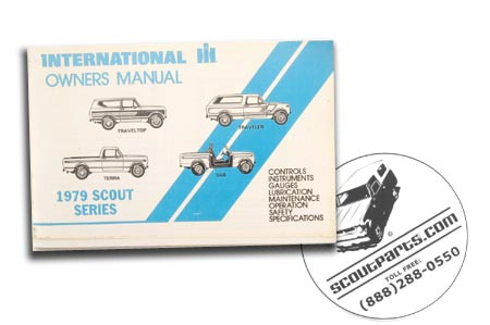 1979  Owners Manual