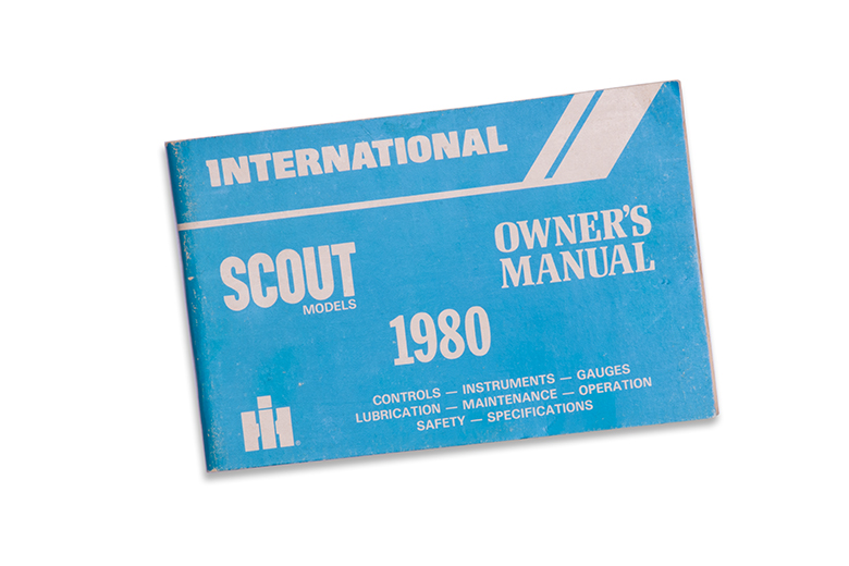 Owners Manual 1980