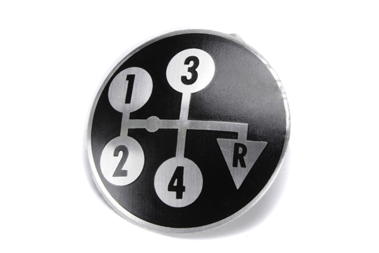 4-Speed Shifter Knob Decals