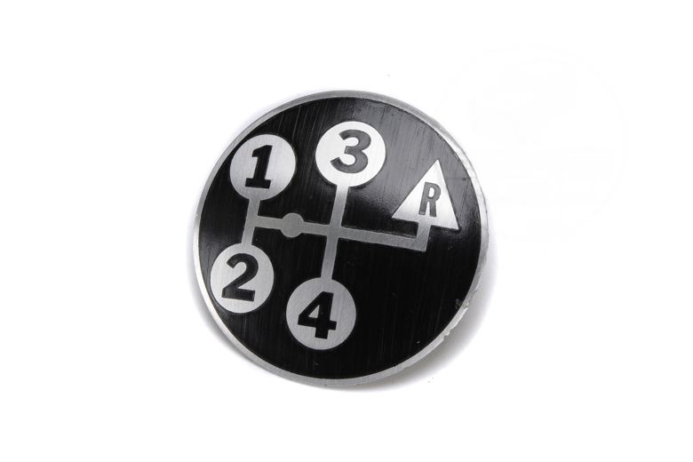 Scout 800 4 Speed Shift Knob Decal - Reverse Up