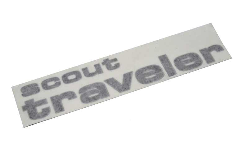 Scout II Traveler Decal
