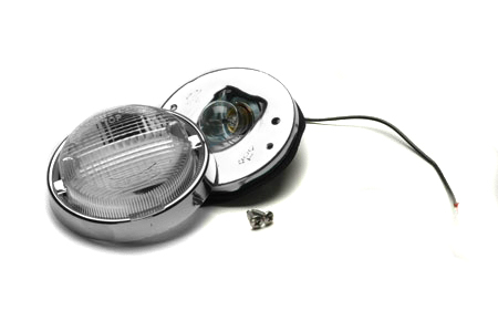 Backup Light Chrome Assy.