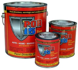 Scout II, Scout 80, Scout 800 POR-15® Rust Preventive Paint - GALLON