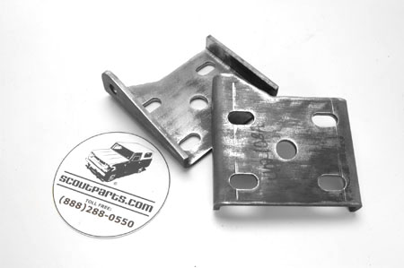 Spring & Shock Absorber Mounting Plate, NEW