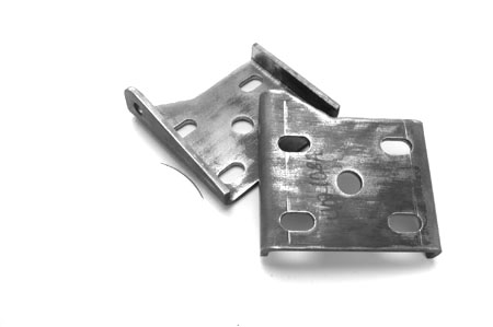 Scout II Rear Spring & Shock Absorber Mounting Plate, NEW