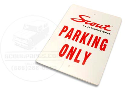 """Scout Parking only"" Sign"