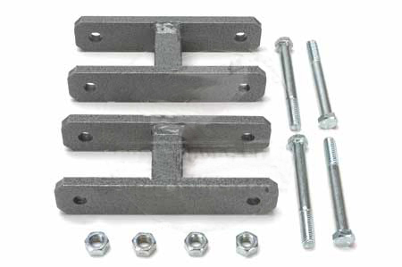 Scout II Spring Shackle Kit - 1 INCH LIFT