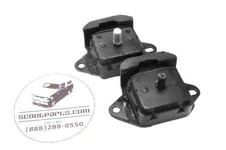 Front Engine Mounts for 6-Cylinder - PAIR