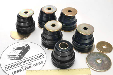 Scout II Body Mount Bushings