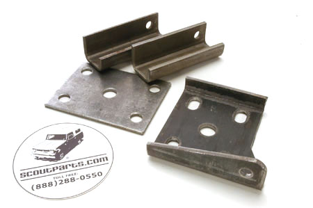 Front Axle Spring Plate Kit