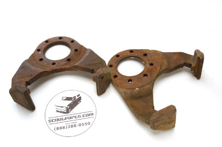 Scout II Bracket - Front Caliper - Used