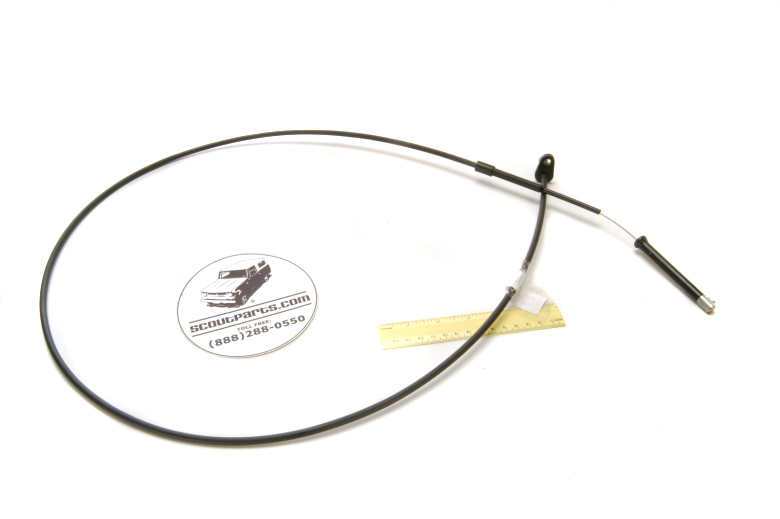 Scout II, Scout II Diesel - Accelerator Cable, NEW
