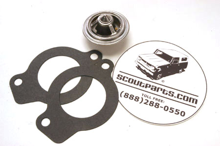 Thermostat and Gaskets for IH Motors