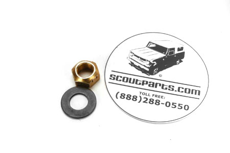 Scout II, Scout 80, Scout 800 D-44 Pinion Nut And Washer Kit
